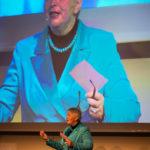 Eva-Maria Popp als Moderation für den W.I.N Kongress in München