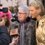 Im Interview mit TV Moderator Robin Bade und Stardesigner Dino Sadino in Kitzbühel, 01.2018