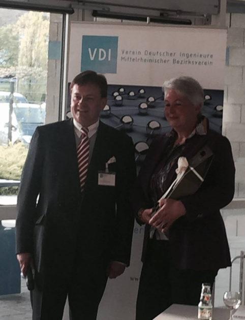 Votrag Eva-Maria Popp beim Verein deutscher Ingenieure