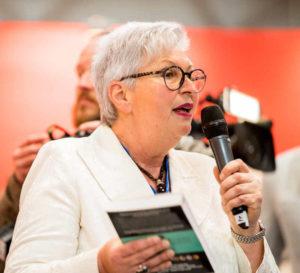 Eva-Maria Popp auf der Leipziger Buchmesse