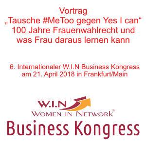 Vortrag W.I.N. Kongress 2018