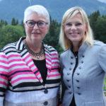 Nina Ruge mit Eva-Maria Popp im Gespräch