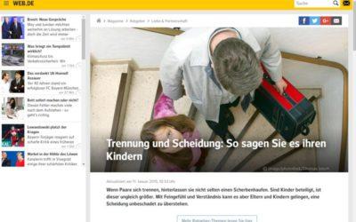 Trennung und Scheidung – Beitrag von Eva-Maria Popp auf web.de