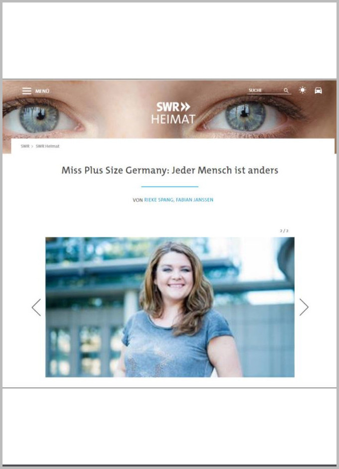 Dina Wacker swr-heimat