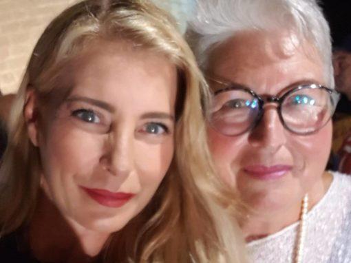 Model, DJ und Schauspielerin Giulia Siegel